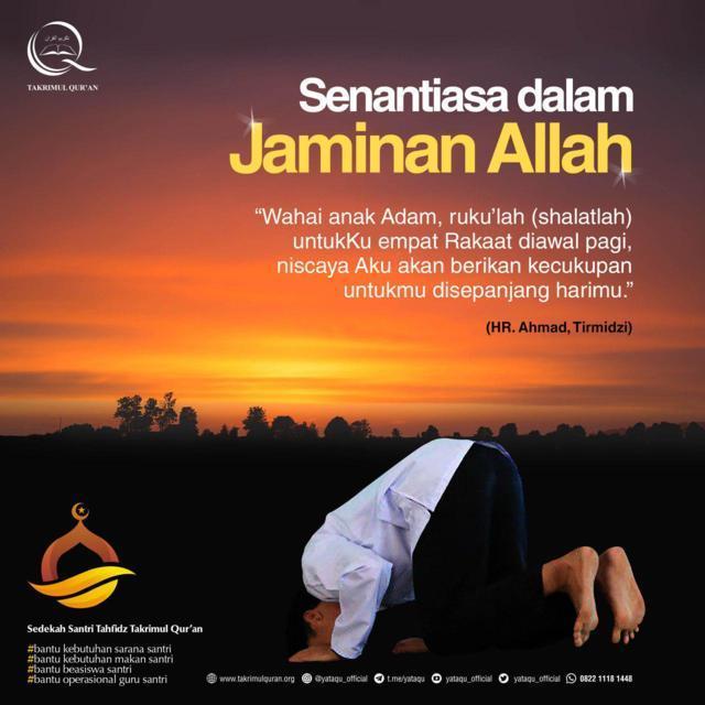 Senantiasa dalam Jaminan Alloh Takrimul Quran