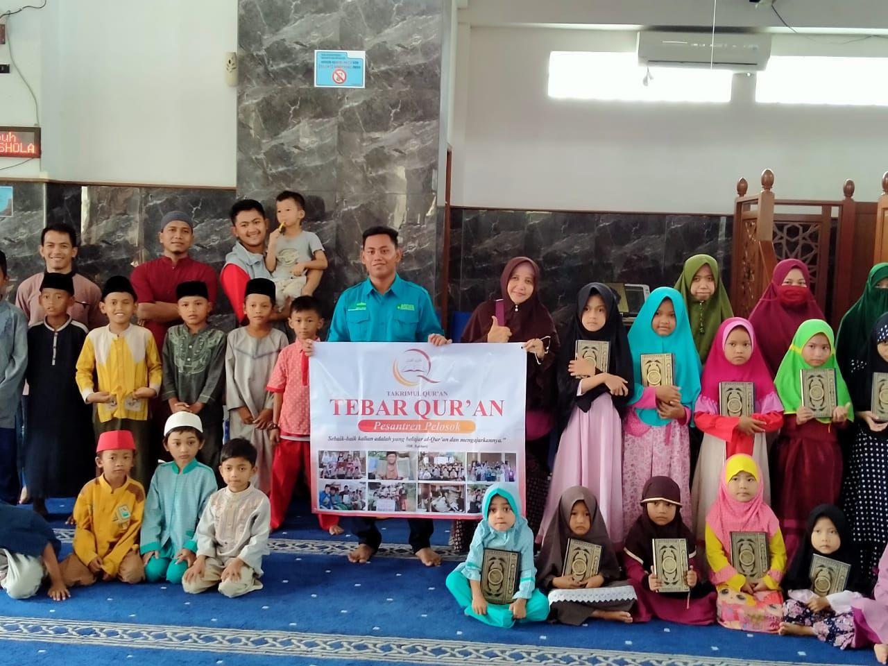Distribusi Al-Quran Untuk TPA dan PAUD Fukrul Akbar Bekasi