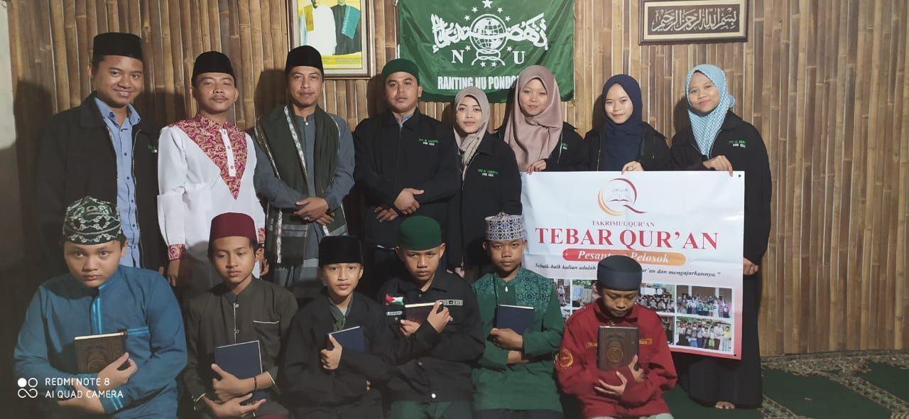 Distribusi Al-Quran untuk Pesantren Riadhul Qur'an Depok