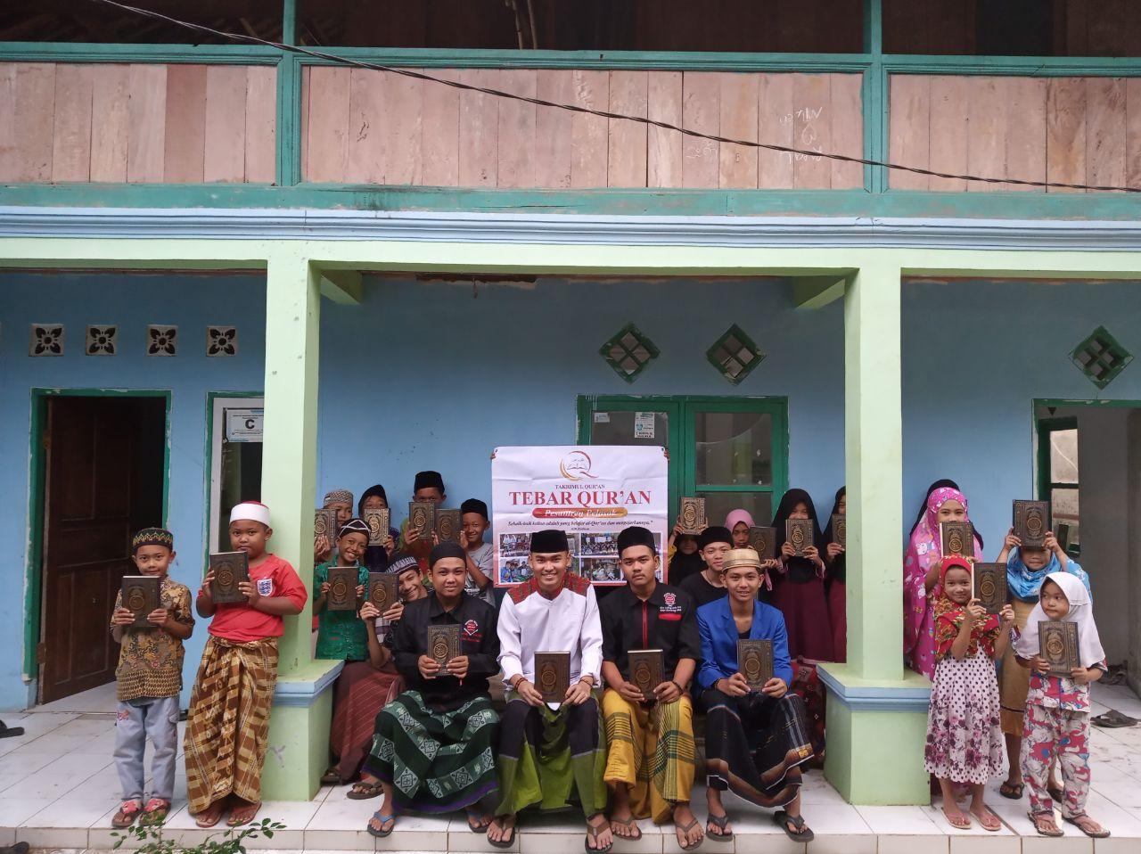 Mushaf Al-Quran untuk Pondok Pesantren Riadul Muttaqin Kab Sukabumi